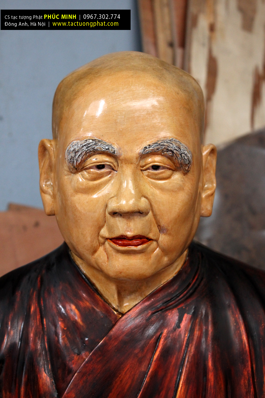 Xưởng tạc Tượng gỗ truyền thần, tượng bán thân, tượng giả cổ, tượng chân dung, tượng cụ ông, tượng cụ bà, tượng sư ông, tượng hòa thượng